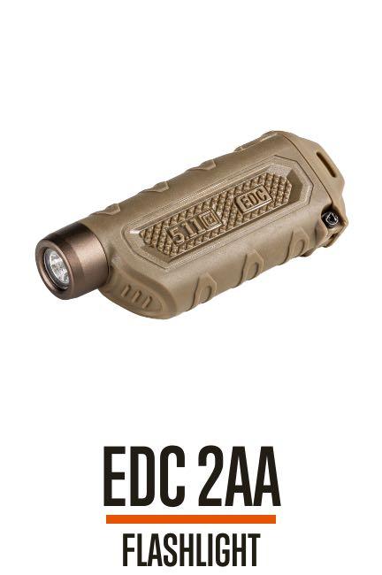 EDC 2AA Flashlight