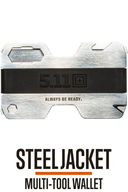 Steel Jacket Wallet